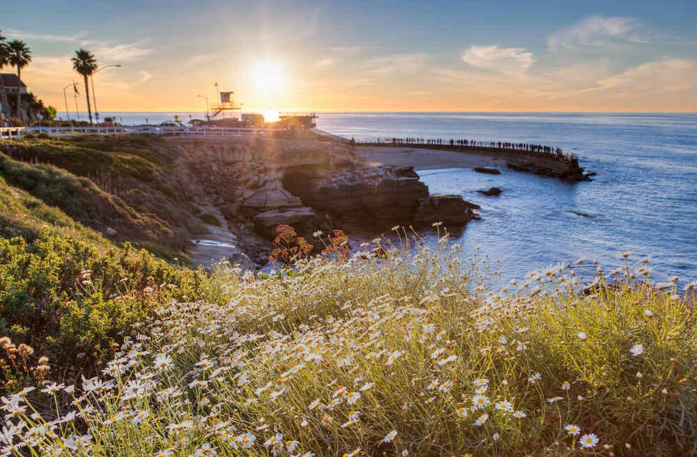 La Jolla Cove Sunset